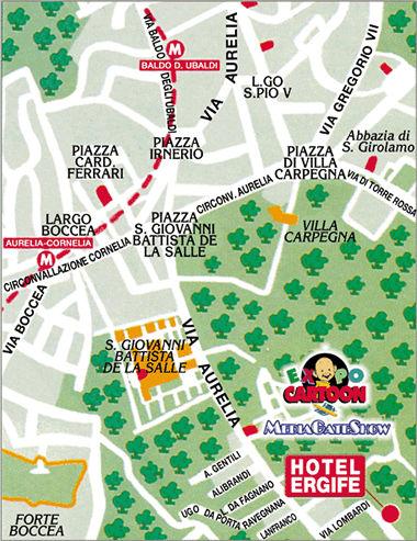 Hotel Ergife Roma Come Arrivare